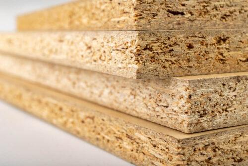 چوب از نوع Particaleboard